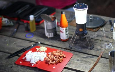 Camping. MC's Top 5 Camp Menu Ideas.