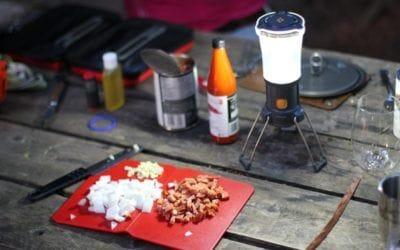 Camping. Top 5 menu de camping: les idées bouffe de Marie-Christine Lessard.