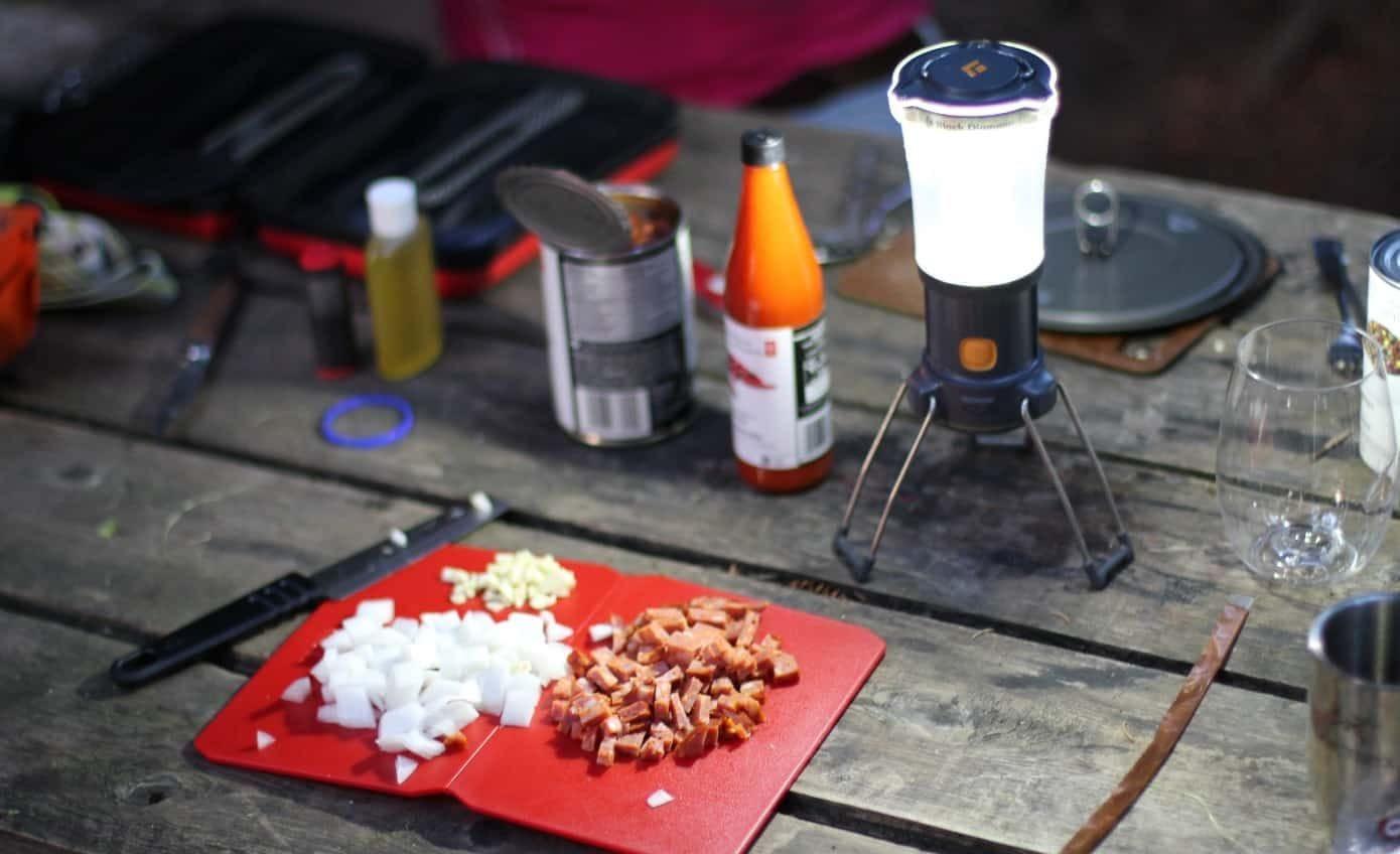 Camping. MC's Top 5 Camp Menu Ideas