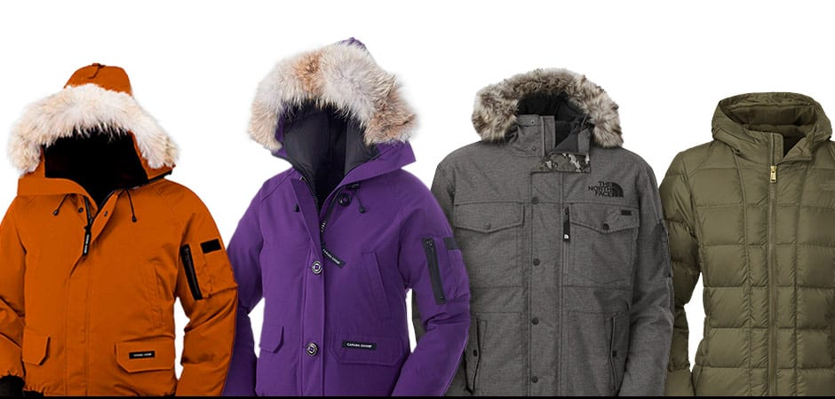 Canada Goose, The North Face. The North Face Gotham II VS Canada Goose  Chilliwack de214ecf956