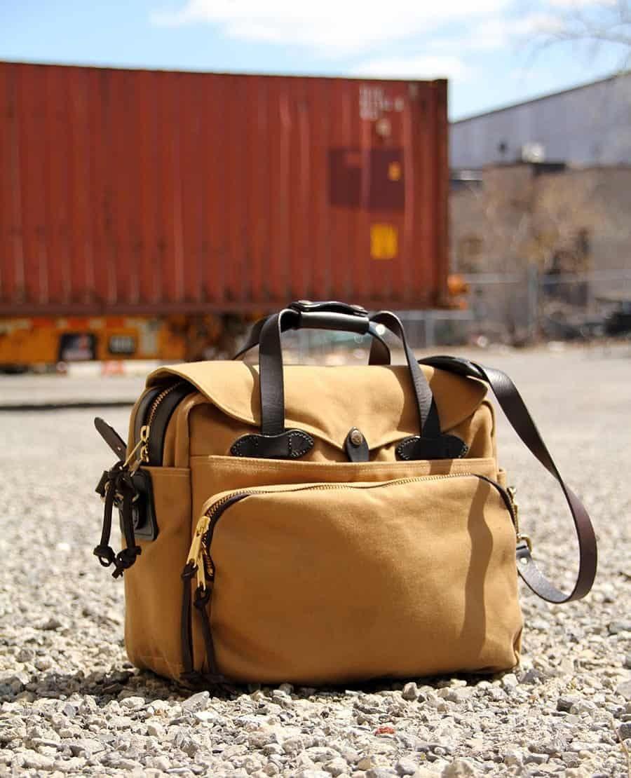 Filson. Top 10 Staff Picks: Filson Padded laptop Bag-Briefcase