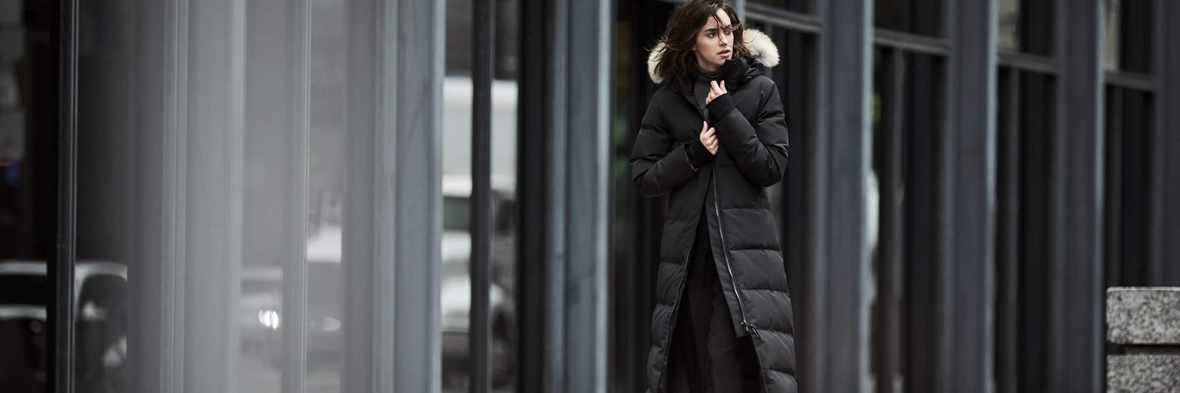 Coupe Fusion de Canada Goose : des manteaux d'hiver aux coupes ajustées pour les petites taille