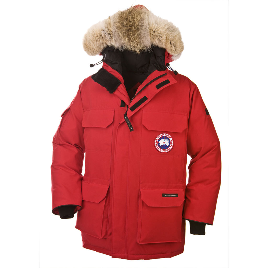 Canada Goose' jackets size guide