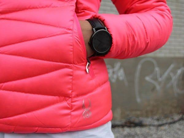spyder-manteau-poches-logo