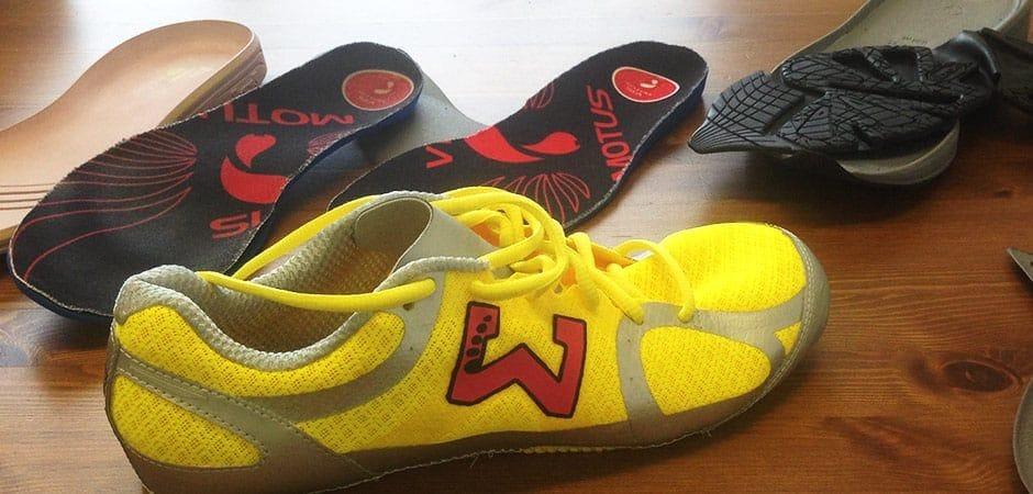 . MATH Sport: souliers de course sur mesure