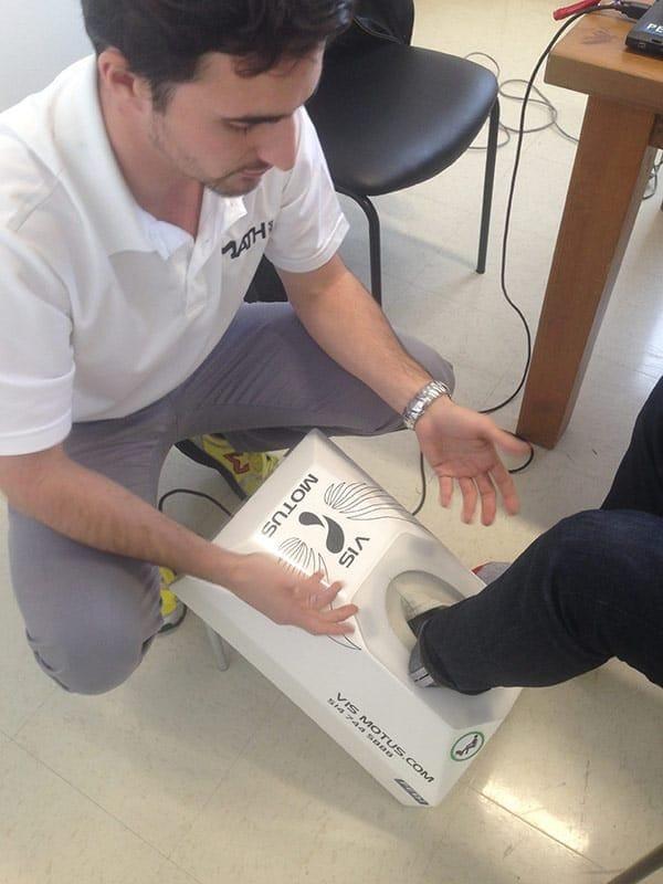 MATH Sport : numérisation du pied