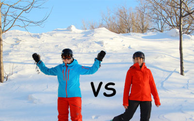 Arc'teryx, Norrona. Le combat des ensembles de ski : Norrøna vs Arc'teryx.