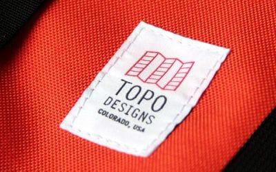 Topo Designs. Deux mots : Topo Designs.