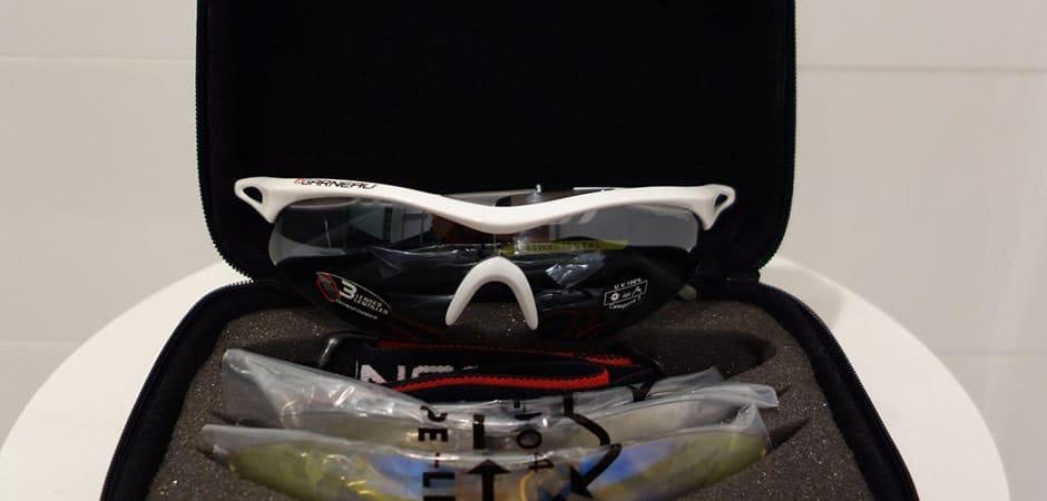Louis Garneau. Louis Garneau Speed Kit Transformer vs. Course II Polarized sunglasses