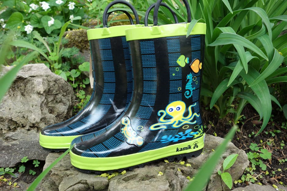 Kamik, Kids. Review of the Kamik Octopus Boots
