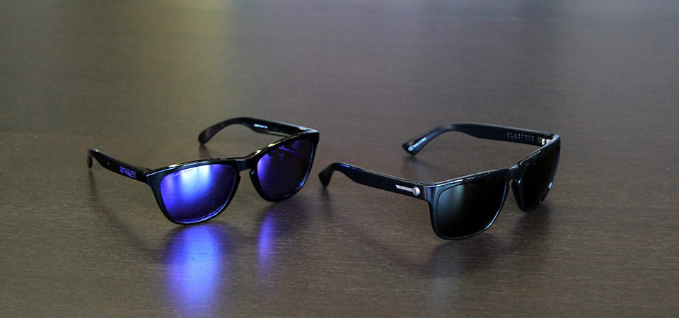 Electric, Oakley. Oakley Frogskins vs Electric Knoxville