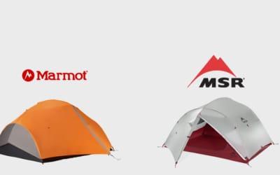 Marmot, MSR. Marmot Fuse 3 vs MSR Mutha Hubba NX.