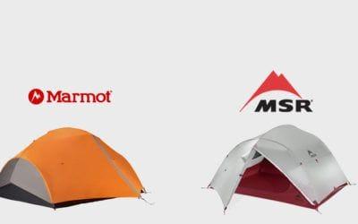 Camping, Marmot, MSR. MSR Mutha Hubba NX vs Marmot Fuse 3.