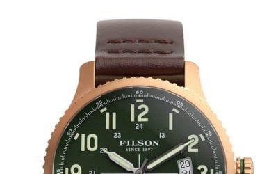Filson. La montre Mackinaw de Filson.