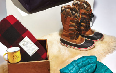 Barbour, FIG Clothing, Sorel, Swims, The North Face, Woolrich, Woolrich John Rich & Bros. The Chalet Look for Women: Enjoy & Relax.