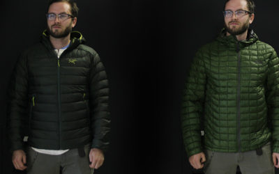 Arc'teryx, The North Face. Arc'teryx Cerium LT VS The North Face Thermoball Hoodie.