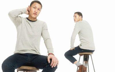 Fjällräven. Le chandail de laine: style et confort au masculin.