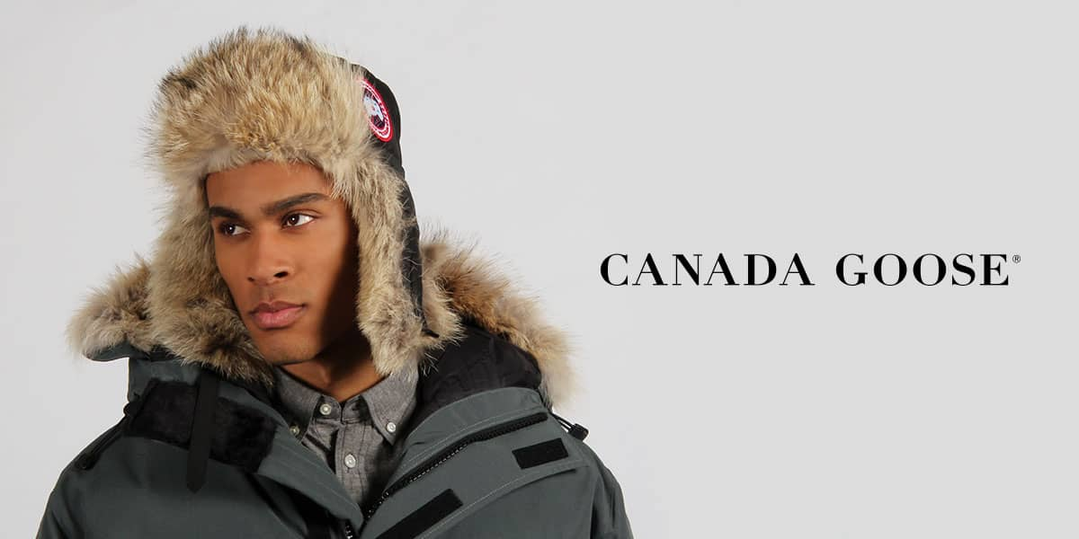 canada goose aviator hat for sale