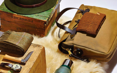 Barbour, Fjällräven, Sorel, UGG Australia. The Chalet Look for Men: Back to the Roots.