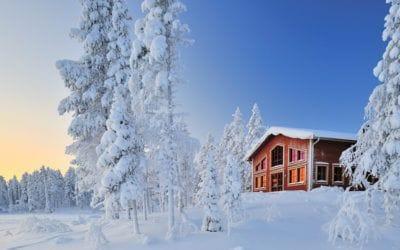 . Aksovaara: Finnish Alpine Luxury At Its Best.