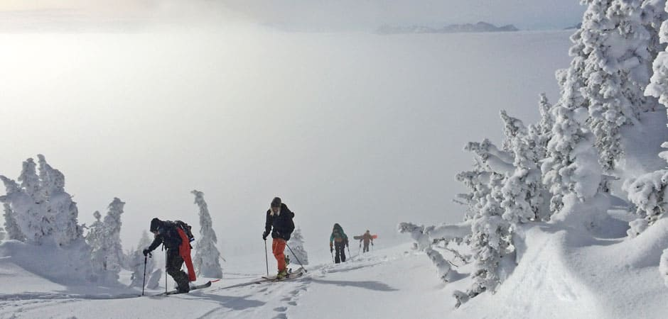 Norrona. Up in the Clouds: Winter in Revelstoke