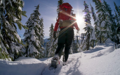 . Snowshoeing Spots Out West.