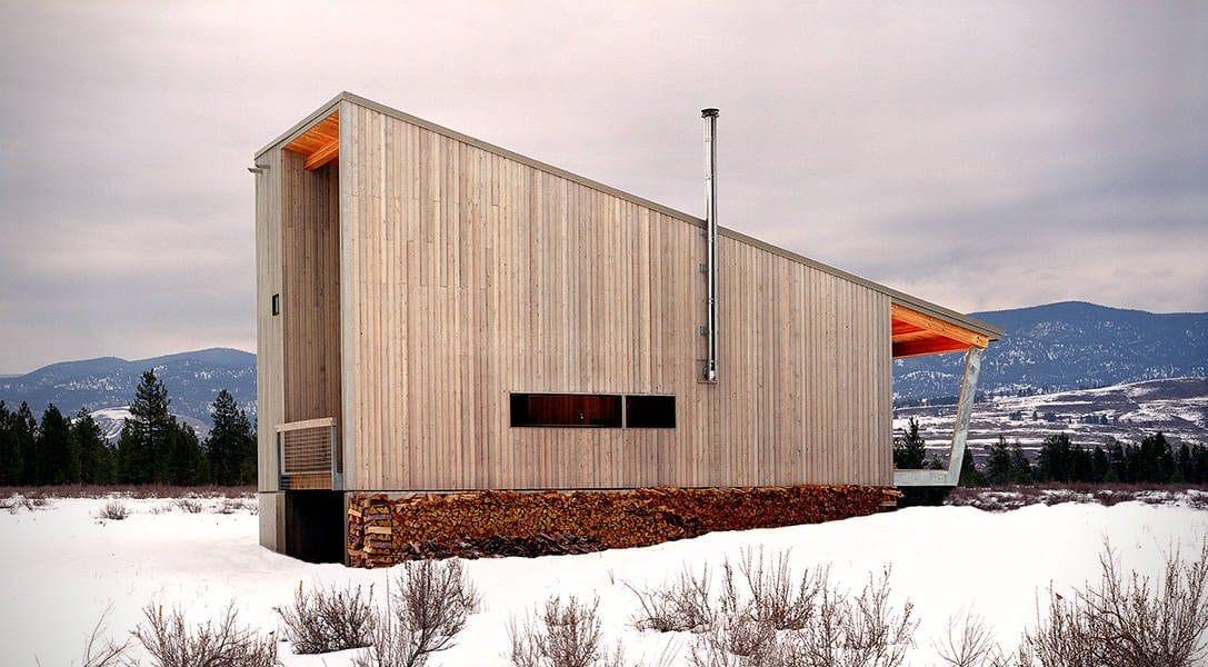 . Methow Cabin: architecture, montagnes et vallées