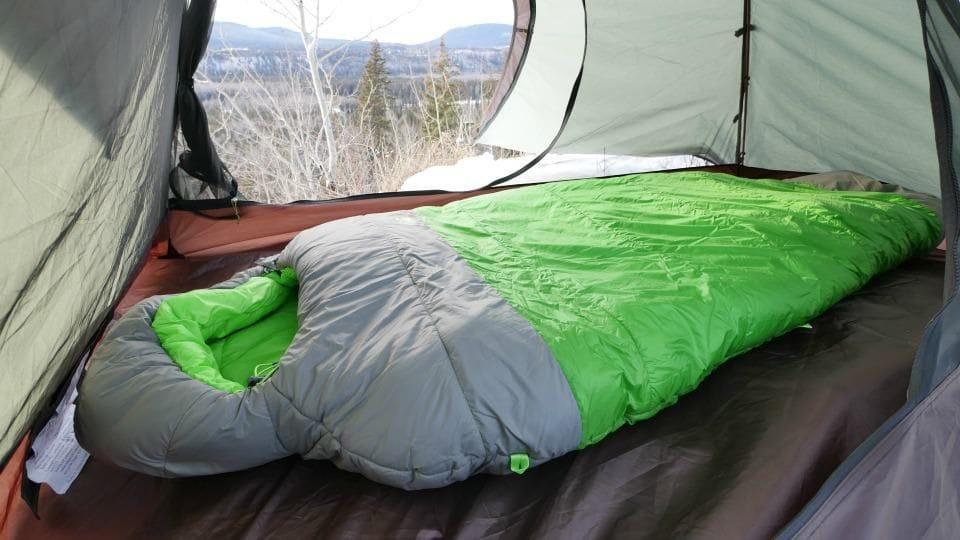 Camping, The North Face. Revue du sac de couchage Snow Leopard par The North Face