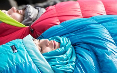 Big Agnes, Camping, Icebreaker, Marmot, Mountain Hardwear, NEMO Equipment, Rab, Sea to Summit, Sleeping Bags, Therm-a-Rest. How to Choose a Sleeping Bag for Camping.