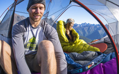 Big Agnes, Camping, Marmot, Mountain Hardwear, NEMO Equipment, Rab, Sea to Summit, Sleeping Bags, Therm-a-Rest. How to Choose a Sleeping Bag for Camping.