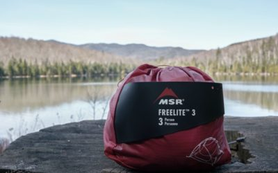 Camping, MSR. Review of the MSR FreeLite 3 Tent.