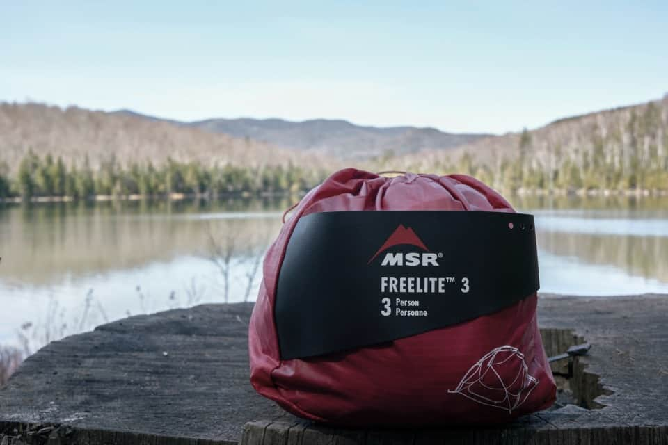 Camping, MSR. Review of the MSR FreeLite 3 Tent