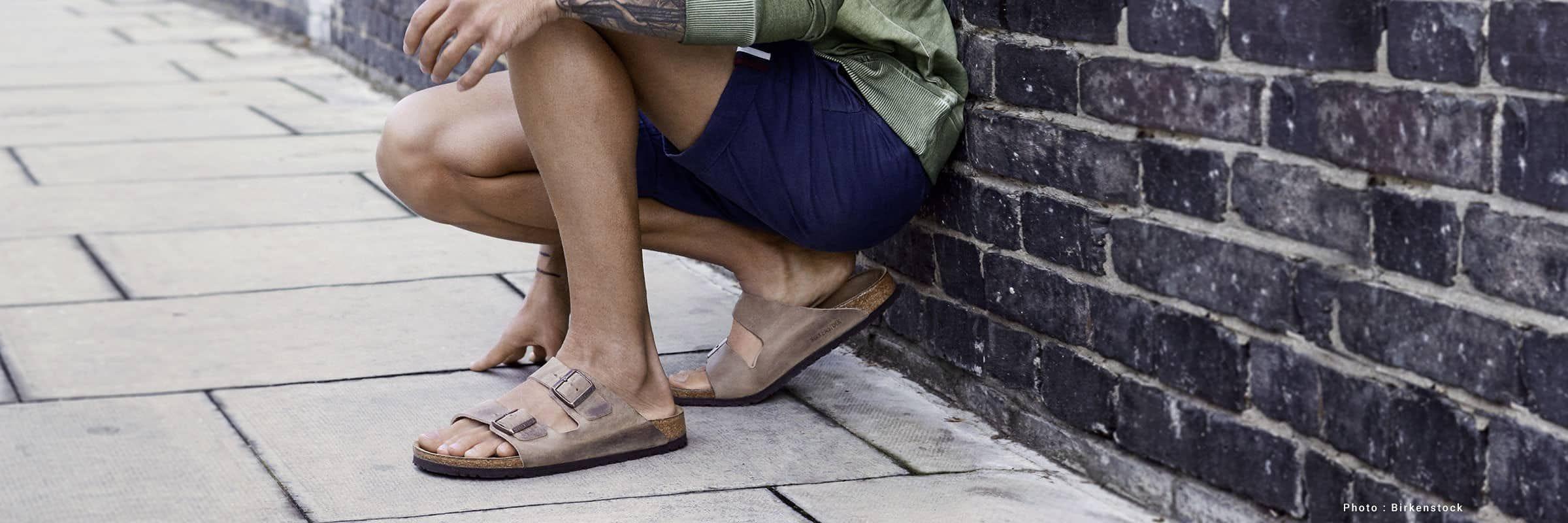 8 sandales pour hommes parfaites pour l'été