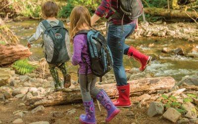 Aigle, Bogs, Hunter, Kamik. 6 bottes de pluie pour enfants parfaites pour l'automne.