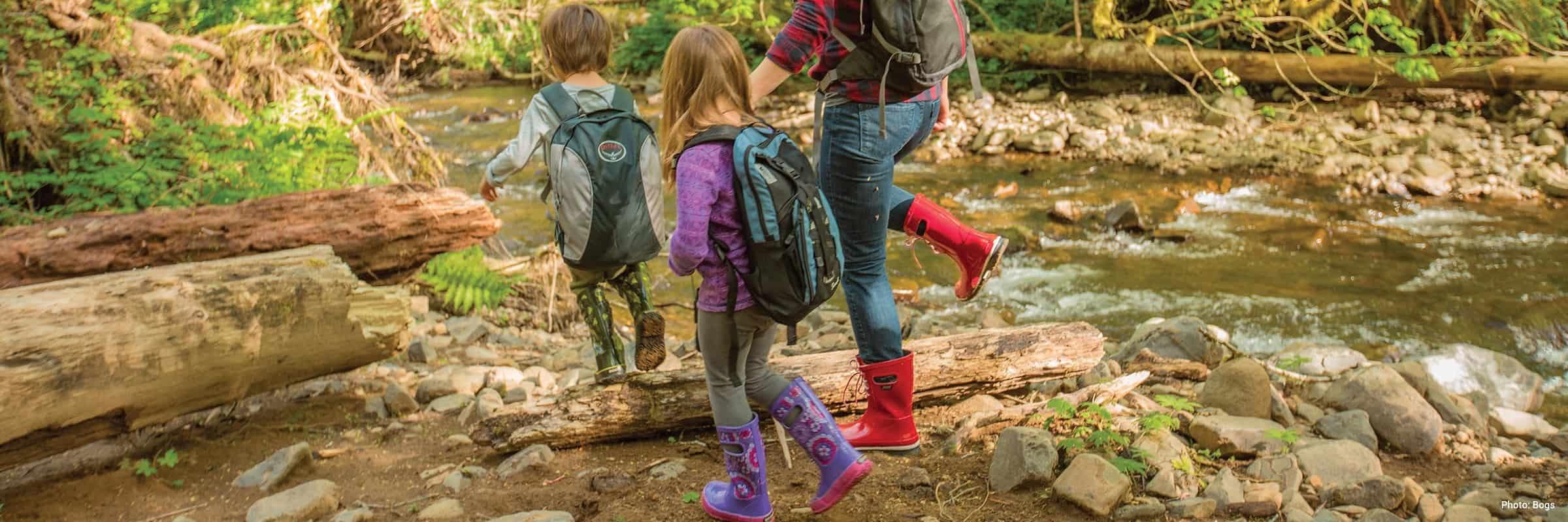 Aigle, Bogs, Hunter, Kamik. 6 bottes de pluie pour enfants parfaites pour l'automne