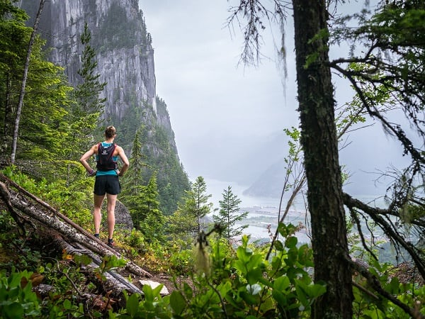 Trail Running in Squamish