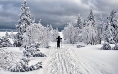 Hiver. Où faire du ski de fond au Québec en 2016.