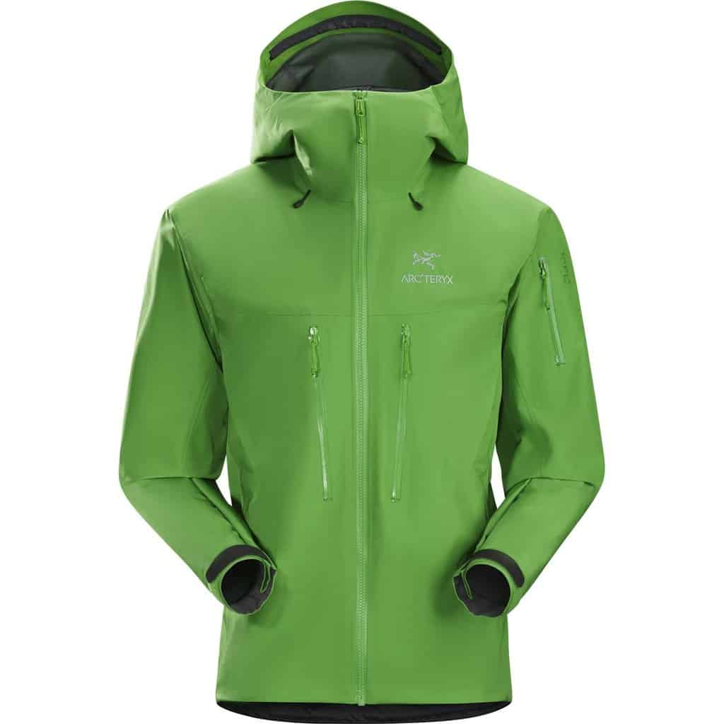 arc'teryx mens alpha sv jacket