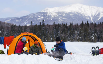 Adventure Medical Kits, Backcountry Access, Black Diamond, Bushnell, Gerber, Light My Fire, Mountain Hardwear. Winter Camping Survival Guide.