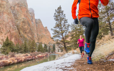 Arc'teryx, Black Diamond, Fitletic, Gregory, Icebreaker, Mizuno, Osprey, Petzl, Salomon, Saucony, Shock Absorber, The North Face, Under Armour. How to Dress for Winter Running.
