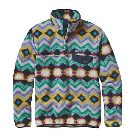 PATAGONIA NEW Women's Lightweight Synchilla SnapT Pull Over