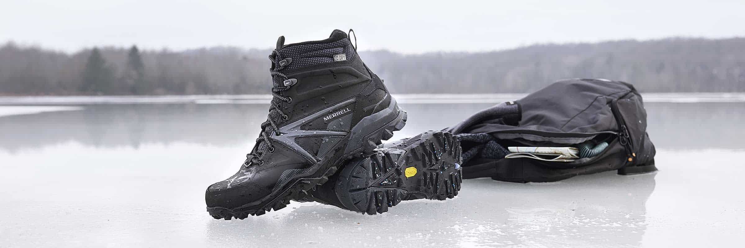 162f439e58 With Vibram Arctic Grip™ Soles, You'll Never Slip on Ice Again
