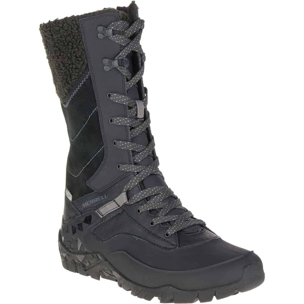 merrell womens aurora tall ice