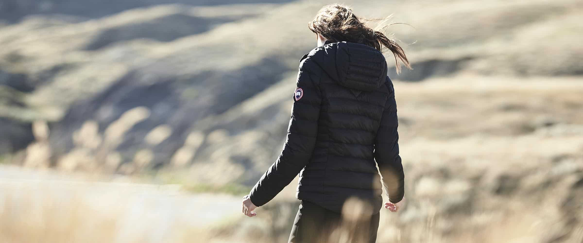 Canada Goose tailles et coupes