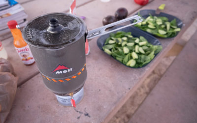 Camping, MSR. MSR Reactor 1L Stove System Review.