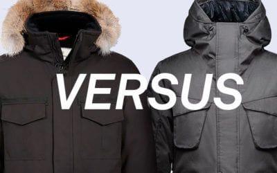 Nobis, Quartz Co., Winter. Quartz Co. Sirius Jacket VS Nobis Rosco Parka.