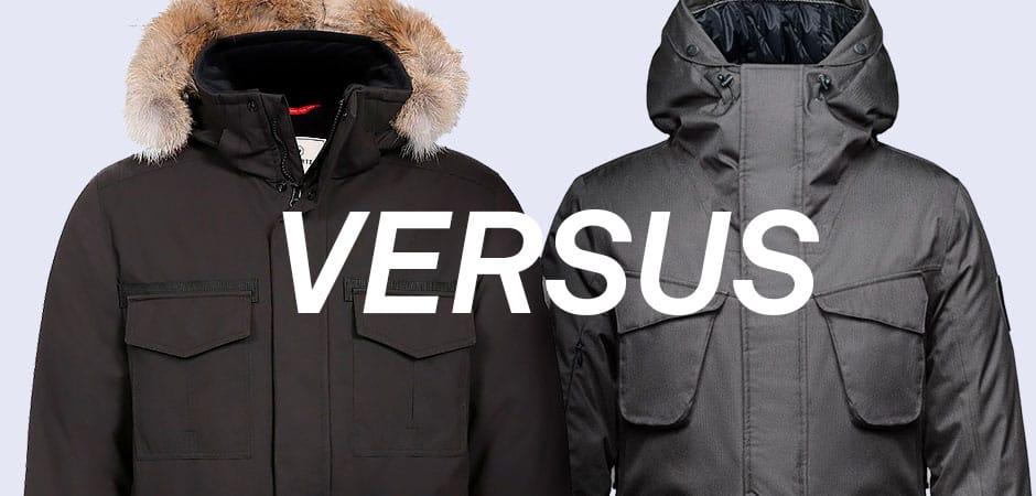 Nobis, Quartz Co., Winter. Quartz Co. Sirius Jacket VS Nobis Rosco Parka