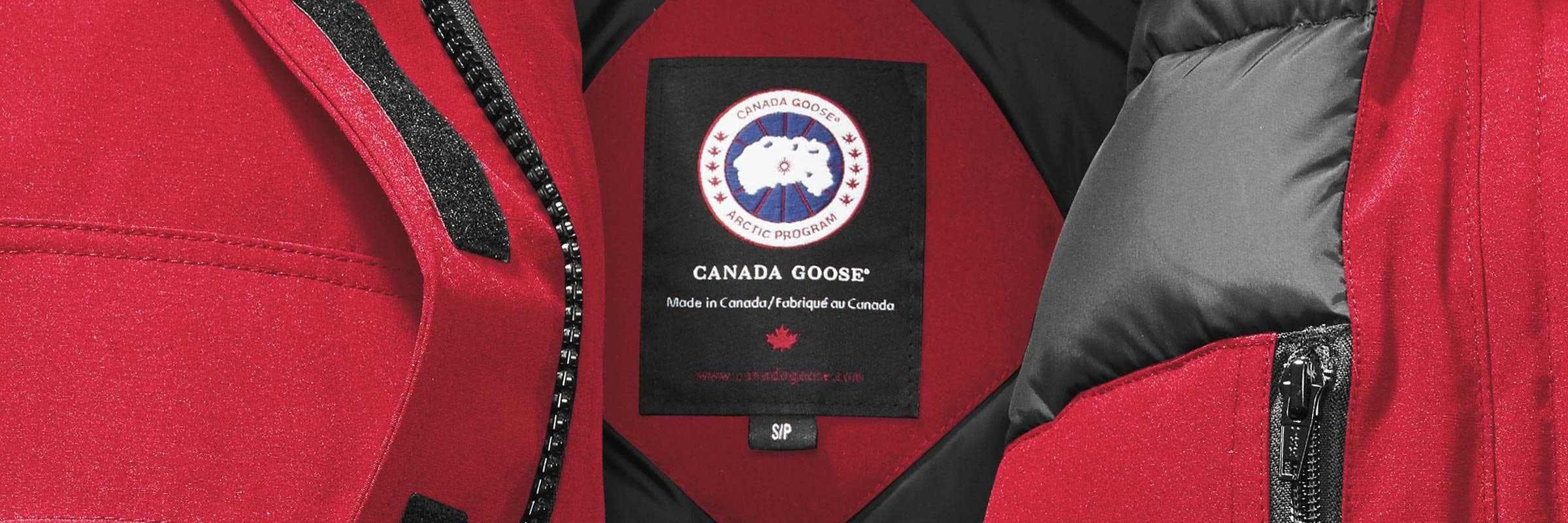 manteau marque canada goose