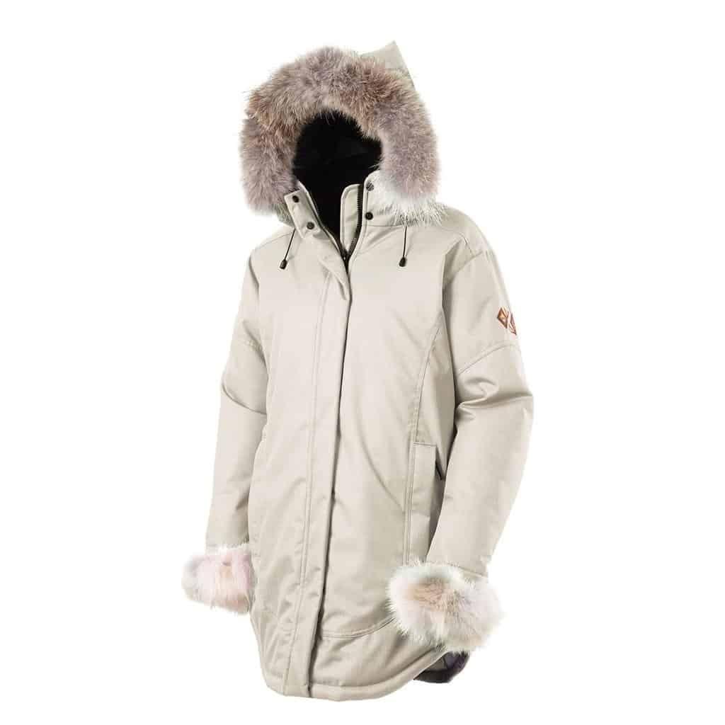 Manteau hiver femme fait au canada