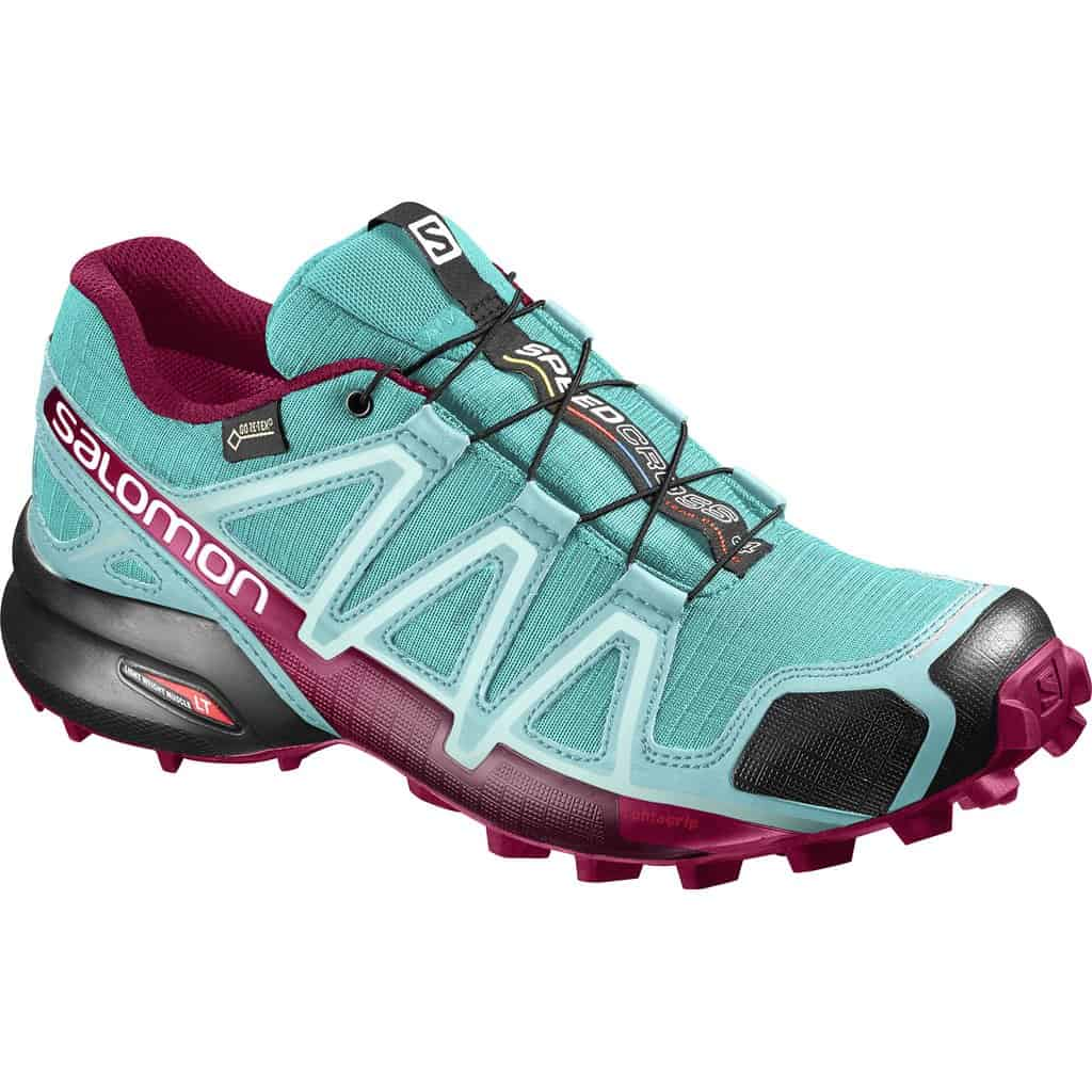 womens salomon speedcross 4 gtx trail